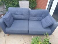 Free 3 year old M&S Sofa - get it before it rains!