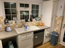 Cupboards, Worktops & Fridge Freezer