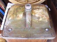 Very old and very heavy Cast Iron Sink .
