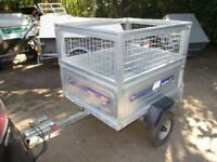 INDESPENSION - DAXARA 107 GOODS TRAILER WITH FULL MESH KIT....