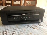 Epson all in one coloured scanner and printer