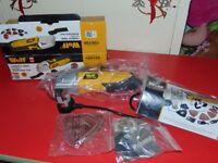 wolf combat tool Oscillating Multi Tool 260w & Accessories New