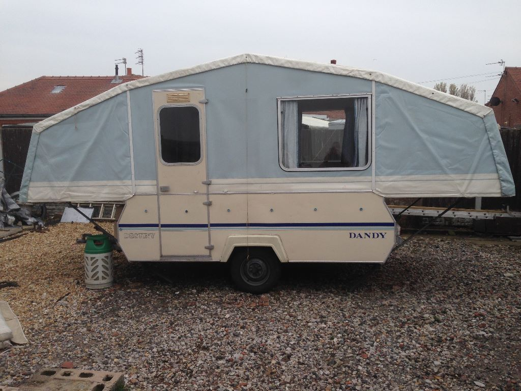 Dandy Destiny Folding Camper Trailer Tent In Blackpool