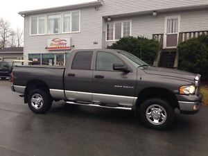 2004 Dodge Ram 2500 SLT 4X4 with room for six!