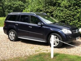Mercedes-Benz GL320 CDI (2008 – 08 plate) MOT until OCT 18 - blue with full cream leather interior