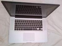 "Apple MacBook Pro 15"" 2.4GHz, 4GB Ram, 500GB HD - VGC - £300"
