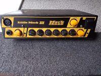Mark Bass Little Mark III LM3 Powerful 500W Bass Amp head