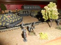 1960s airfix productions models diorama collectible