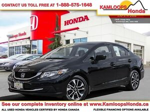 2015 Honda Civic Sedan EX - Top-Notch Safety Ratings & Features