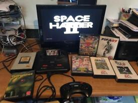 Sega Megadrive Console & Games