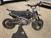 Dirt bike 140cc 4 gears motor bike off road pit bike monster drink