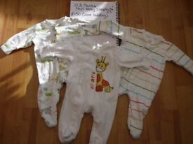 Neutral Baby bundle 0-3 months - Next, F&F, Disney and George