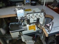 Brother V-Series 5-thread Overlock Industrial Sewing Machine With binding/piping