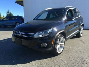 2014 Volkswagen Tiguan Highline 4Motion R-Line (with leather sea