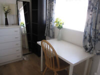 Short term weekly let in a family house- rent £ 110 per week (Quietish house)