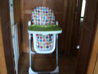 Folding Highchair (?Mamas & Papas)