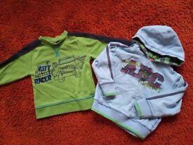 Boys age 18-24 months 2 sweatshirts