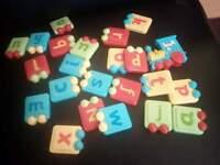 Kids Alphabet Fridge Magnets