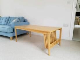 Coffee table (Ercol Pinter in oak)