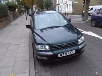 Automatic mitsubishi space wagon excellent running vehicle price is £375