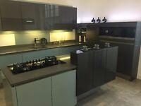 Ex-Display German Handleless Kitchen with quartz worktops & Miele appliances - No Offers