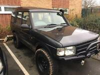 Land Rover Discovery TD4 p/x with a trailer or Freelande