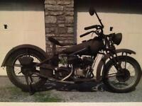 741b Indian motorcycle 1946