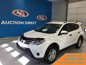 2013 Toyota RAV4 LE (A6), BLUETOOTH, BACK UP CAMERA, FINANCE NOW