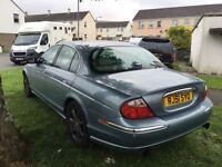Jaguar blue 3ltr V6 petrol near mint
