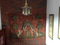 Large wall hanging tapestry