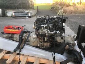 Discovery 4 3ltr engine and 8 speed gear box spares repair
