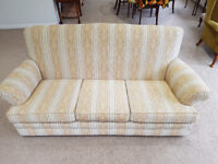 Used sofa in neutral colours