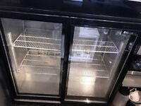 Blizzard BAR2SL Bottle Cooler/Fridge - Sliding 2 Door