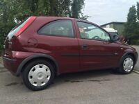 Vauxhall Corsa Manual 2005 1.0l (petrol) - low mileage! 77665