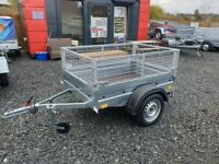 BRAND NEW MODEL 5X4 TRAILER WITH 40 CM MESH