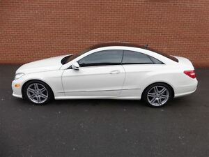 2010 Mercedes-Benz E-Class E550 -- A.M.G SPORTS PKG -- PANORAMA