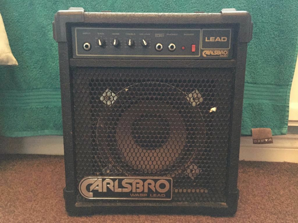 carlsbro wasp lead 30 amplifier in mosspark glasgow gumtree. Black Bedroom Furniture Sets. Home Design Ideas