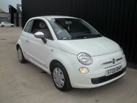 2009 Fiat 500 1.2 Pop 3dr,3 Months warranty, 2 Keys , 1 Previous Keeper May PX
