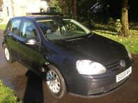 VOLKSWAGEN GOLF 1.9 Match TDI 5dr (black) 2008