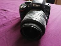 Nikon D5100 with case (second hand, good condition)