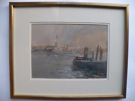 Watercolour Painting of Venice by Tom Coates
