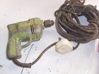 Vintage Wolf Cub ¼ inch Electric Drill