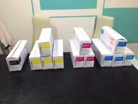 12 pcs Compatible 4 colour Oki Laser Toner Multipack - Oki C110 / C130n / MC160n - RRP: £390.40!