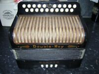 hohner double ray meloden / accordion from the 1950s b/c
