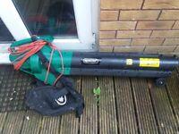 leaf blower/vacume