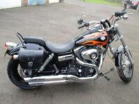 2010 Harley Davidson Dyna Wide Glide FXDWG 1585cc chopper, not a yamaha suzuki honda kawasaki