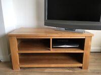 Solid Oak TV Unit / Stand