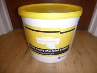 GYPROC READY MIX JOINT CEMENT 12 LITRE TUB (BRAND NEW)