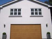 *** HORMANN DOUBLE SECTIONAL GARAGE DOOR + ELECTRIC SOMMER APERTO 800 OPENER £750 07739 329 389 ***