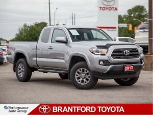 2017 Toyota Tacoma SR5, 4X4, 8541 km's, Trade in, Running Boards